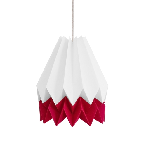 Strawberry Origami Lightshade
