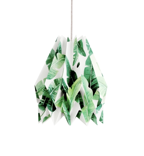 Tropical Origami Lightshade
