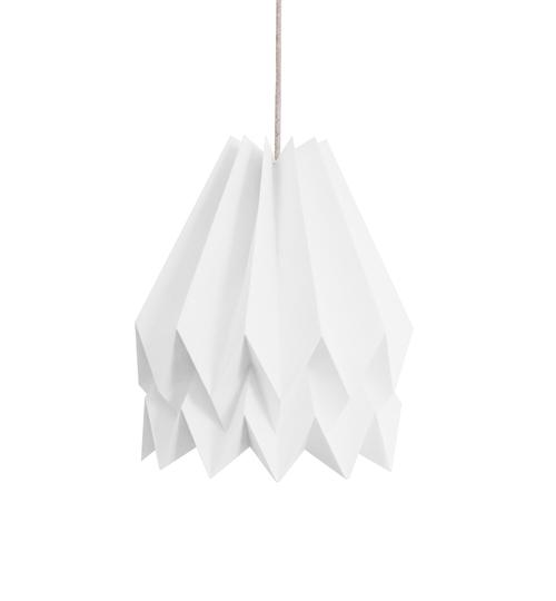 Polar White Origami Lightshade