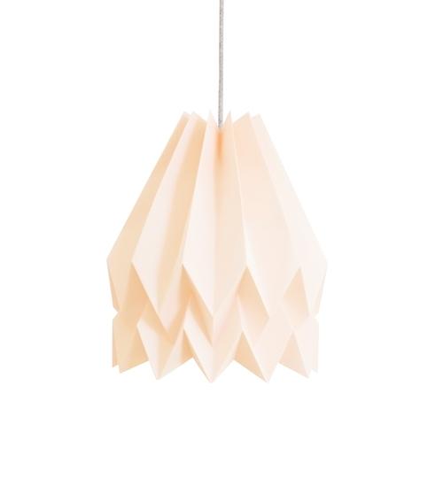 Pastel Pink Origami Lightshade