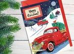 Christmas Truck Festive Card