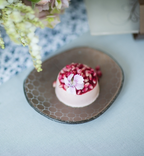 Organic Shaped Dessert Plates 'Hera'